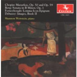 CRC 2601 Frederic Chopin: Mazurkas, Op. 50