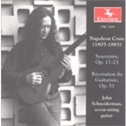 CRC 2609 Napoleon Coste: Souvenirs, Op. 17-23