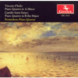 CRC 2625 Vincent d'Indy: Piano Quartet in A Minor, Op. 7