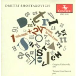 CRC 2636 Dmitri Shostakovich: Violin Sonata, Op. 134