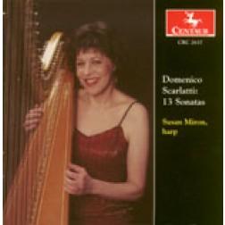 CRC 2637 Domenico Scarlatti: 13 Sonatas (arr. Miron)