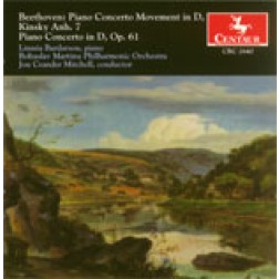 CRC 2640 Beethoven: Piano Concerto Movement in D, Kinsky Anh. 7