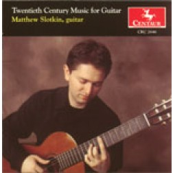 CRC 2646 Twentieth Century Music for Guitar.