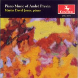 CRC 2671 Piano Music of Andre Previn.  The Invisible Drummer
