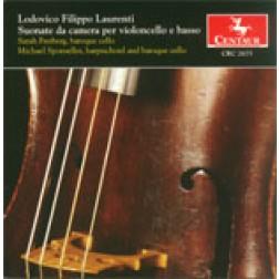 CRC 2675 Lodovico Filippo Laurenti: Suonate da camera per violoncello e basso