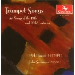 CRC 2679 Trumpet Songs: Art Songs of the 19th and 20th Centuries.  Songs by Ravel, Barber, Dvorak, Beethoven, Bizet, Copland, Debussy, Faure, Grieg, Rachmaninoff, Saint-Saens, Tchaikovsky, and Mahler