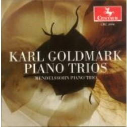 CRC 2684 Karl Goldmark: The Piano Trios.  Trio, Op. 4