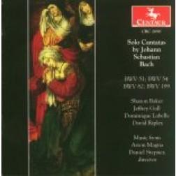 CRC 2690 Solo Cantatas by Johann Sebastian Bach.  BWV 51