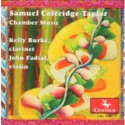 CRC 2691 Samuel Coleridge-Taylor: Chamber Music.  Quintet in F-sharp minor, Op. 10