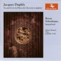 CRC 2714 Jacques Duphly: Second Livre de Pieces de Clavecin (complete)
