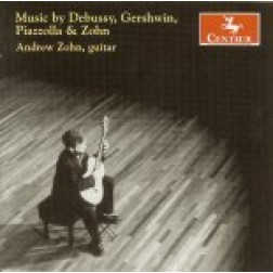 CRC 2740 Music by Debussy, Gershwin, Piazzolla & Zohn.  Astor Piazolla: Four pieces (Chau Paris