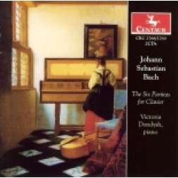 CRC 2768/2769 Johann Sebastian Bach:  The Six Partitas for Clavier.  Partita 1 in B Flat Major, BWV 825