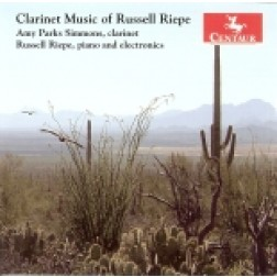 CRC 2785 Clarinet Music of Russell Riepe.  Three Studies on Flight for Solo Clarinet
