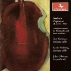 CRC 2812 Andrea Caporale:  Complete Sonatas for Violoncello and basso continuo