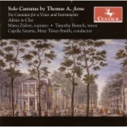 CRC 2815 Solo Cantatas by Thomas A. Arne.  Maria Zadori, soprano