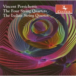 CRC 2833 Vincent Persichetti:  The Four String Quartets