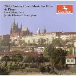 CRC 2841 20th Century Czech Music for Flute & Piano.  Peter Eben:  Sonatina Semplice