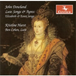CRC 2866 John Dowland:  Lute Songs & Ayres:  Elizabeth & Essex Songs.  Can she excuse my wrongs