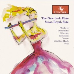 CRC 2907 The New Lyric Flute.  Gary Schocker:  Hannah's Glade for flute and piano