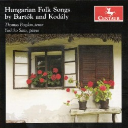 CRC 2967 Hungarian Folk Songs by Bartok and Kodaly.  Bela Bartok:  Ten Hungarian Fold Songs, Sz 33 (excerpts)