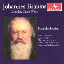 CRC 2996 Johannes Brahms:  Complete Organ Works.  Prelude and Fugue in A Minor, WoO 9