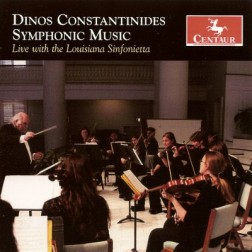CRC 3036 Dinos Constantinides Symphonic Music.  Concerto for Saxophone Quartet and Chamber Orchestra