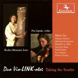 CRC 3056 Duo vio-LINK-oto:  Taking the Scarlet.  Thomas Osborne:  Tumbling from the Ninth Height of Heaven