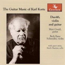 CRC 3059 The Guitar Music of Karl Korte.  Evocations