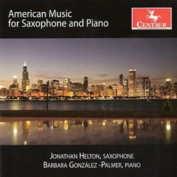 CRC 3065 American Music for Saxophone and Piano.  John Anthony Lennon:  Distance Within Me