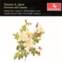 CRC 3072 Thomas A. Arne:  Overtures and Cantatas.  Overture to King Arthur