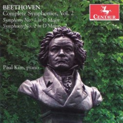 CRC 3088 Beethoven:  Complete Symphonies, Vol. 2 (piano transcriptions by Paul Kim)