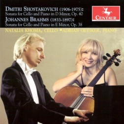 CRC 3100 Dmitri Shostakovich:  Sonata for Cello and Piano in D Minor, Op. 40