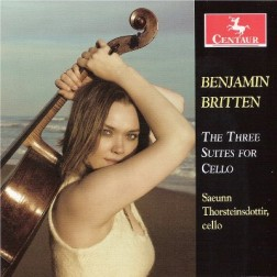 CRC 3154 Benjamin Britten:  The Three Suites for Cello.  Suite for Cello, Op. 72