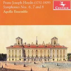 CRC 3173 Franz Joseph Haydn:  Symphonies Nos. 6, 7 and 8