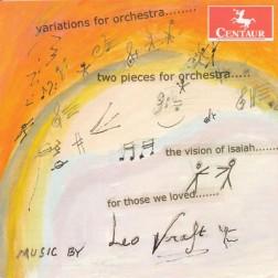 CRC 3197 Leo Kraft:  Variations for Orchestra