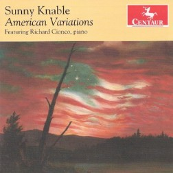 CRC 3200 Sunny Knable:  American Variations.  American Variations