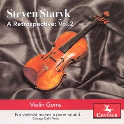 CRC 3203 Steven Staryk:  A Retrospective:  Volume 2.  Franz Schubert:  Allegro from Sonata D 385