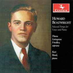 CRC 3290 Howard Boatwright:  Selected Songs for Voice and Piano