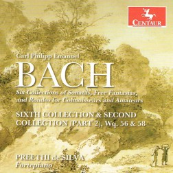 CRC 3327 CPE Bach:  Six Collections of Keyboard Sonatas and Free Fantasias, along with some Rondos for Fortepiano, for Connoisseurs and Amateurs.  Sixth Collection & Second Collection (Part 2)